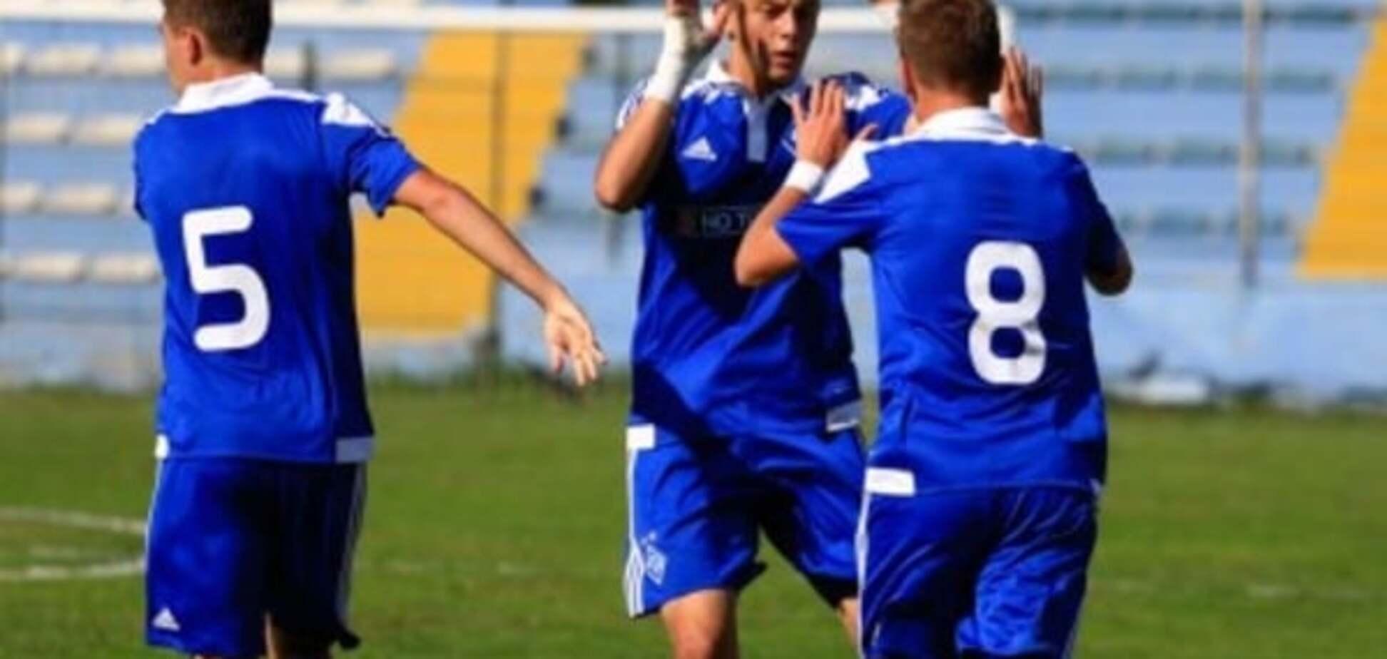 'Динамо' впевнено обіграло 'Бенфіку' в Лізі УЄФА