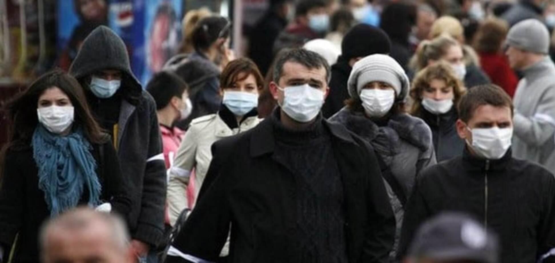 Эпидемия гриппа в Украине