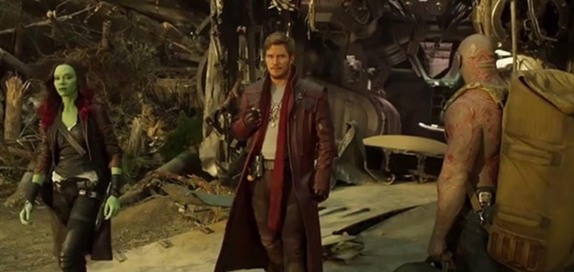 Кадр из фильма \'Стражи галактики - 2\'