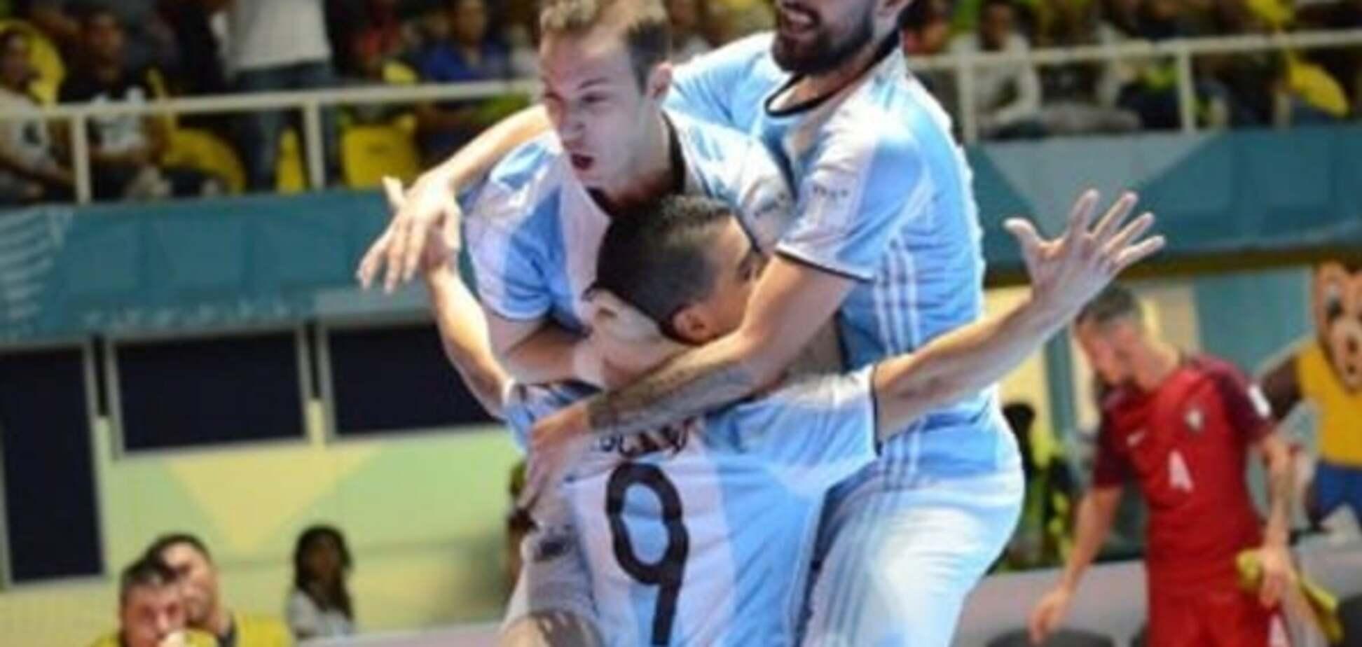 Россия - Аргентина футзал