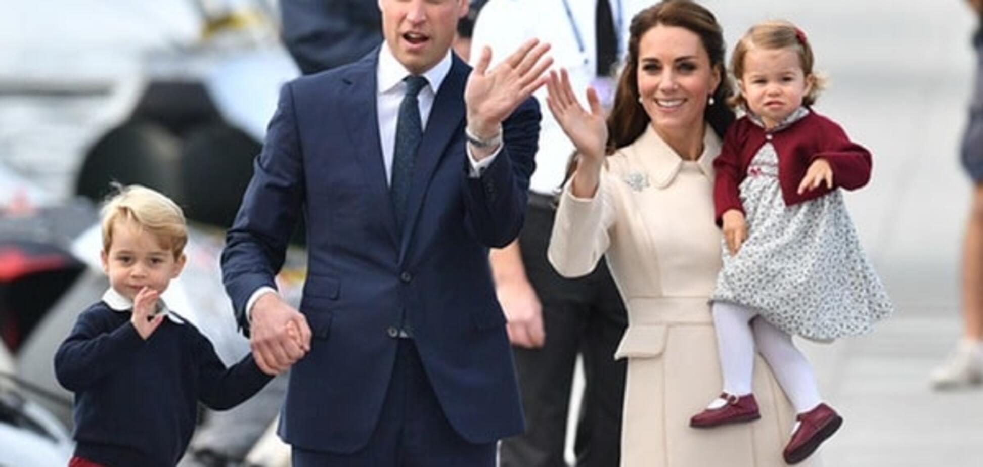 Принц Вільям і Кейт Міддлтон з дітьми