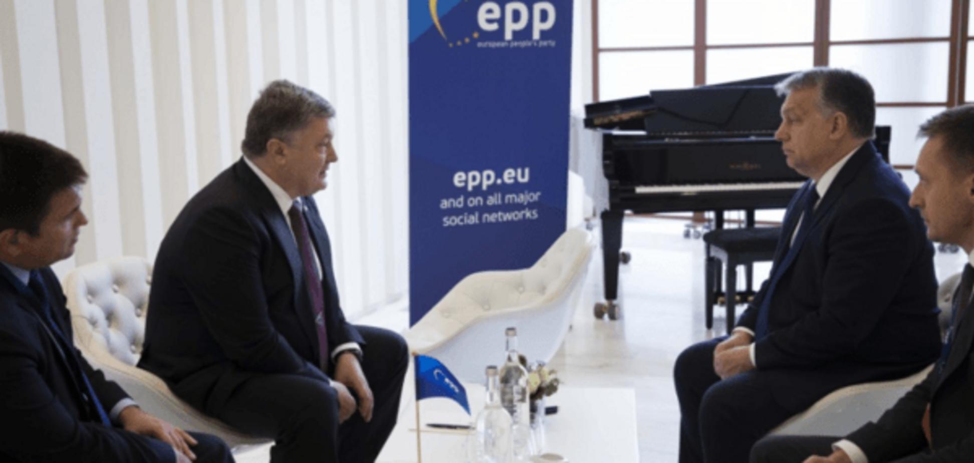 Петр Порошенко, Виктор Орбан