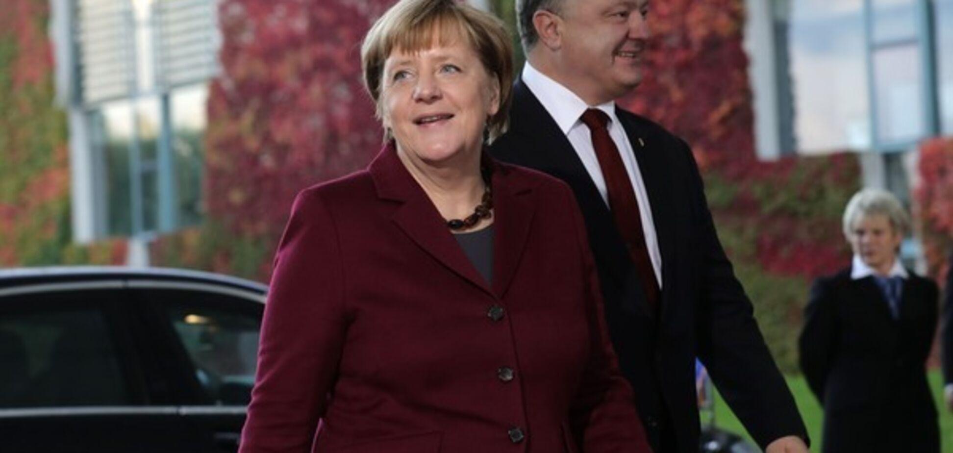 порошенко меркель берлин