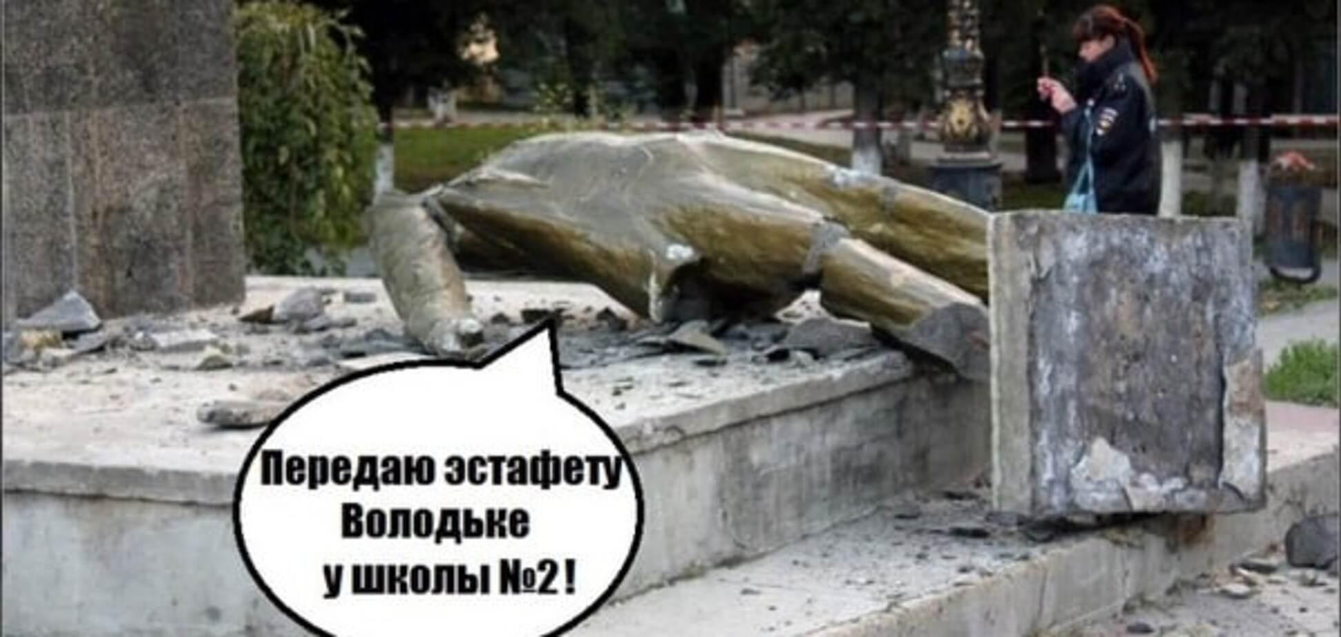 Памятник Ленину в Судаке