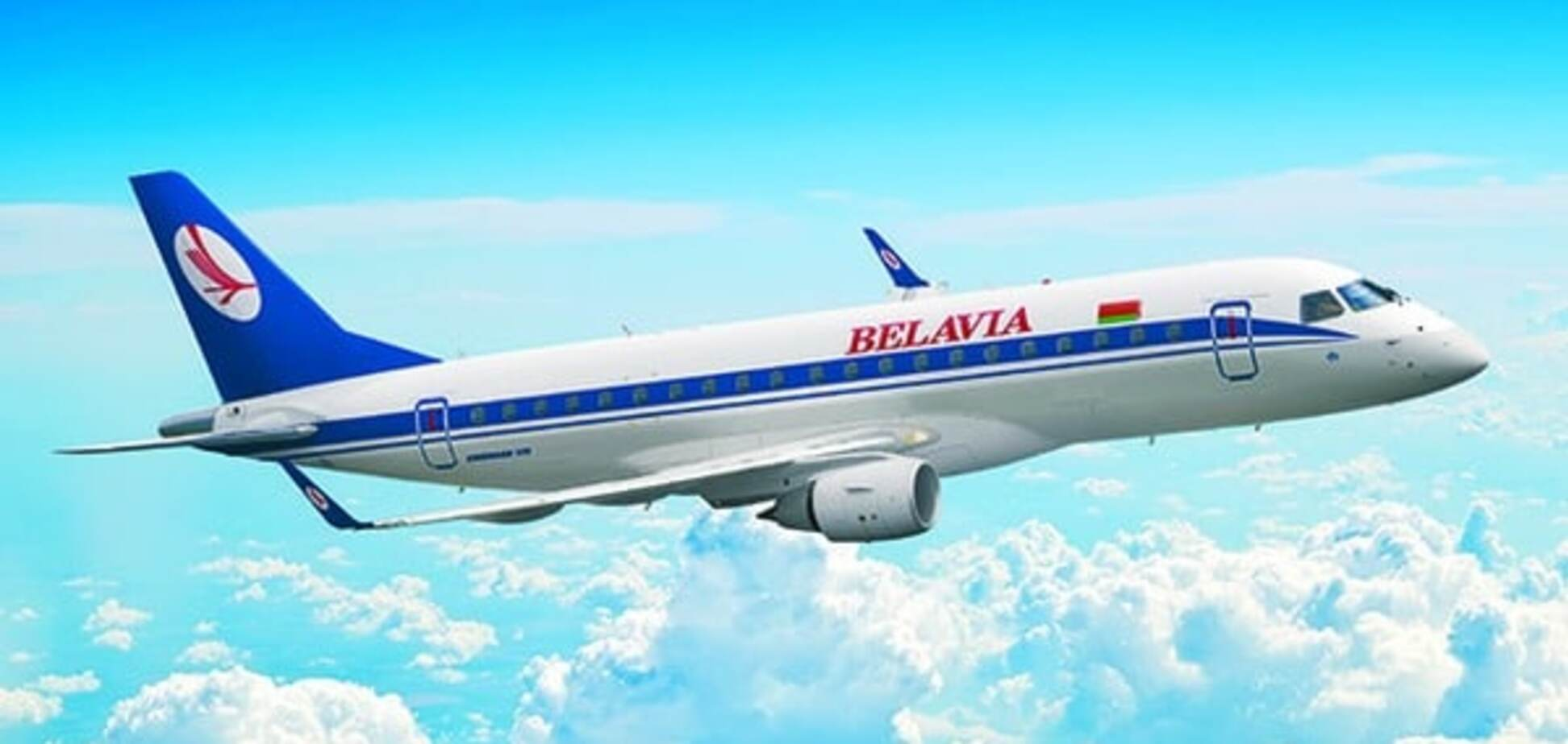 Самолет компании \'Белавиа\'