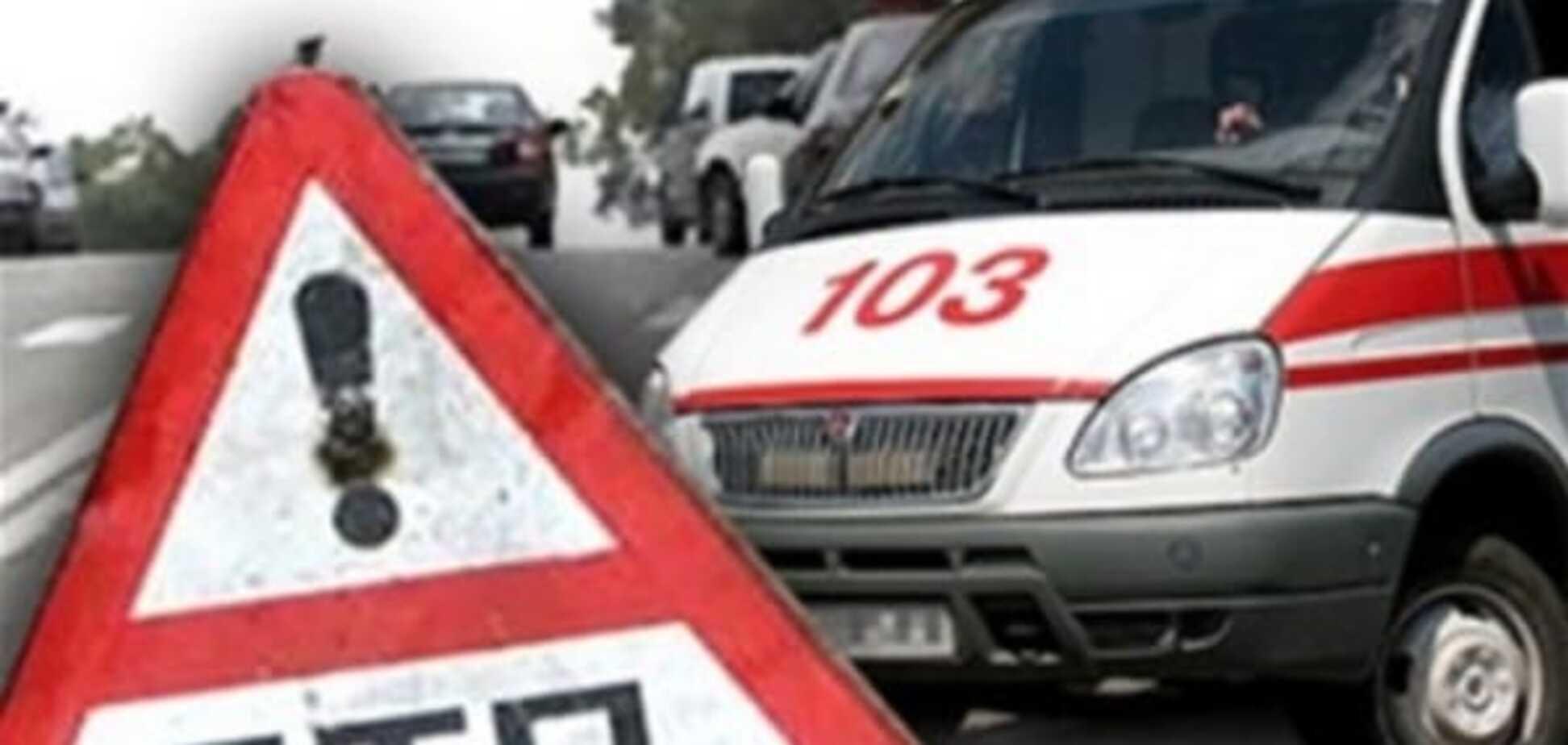 Смертельное ДТП под Запорожьем: водитель 'Волги' сбил двух пешеходов и скрылся