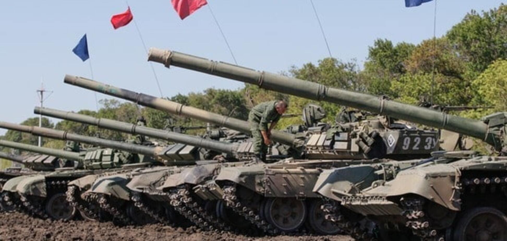 террористы украина война танки