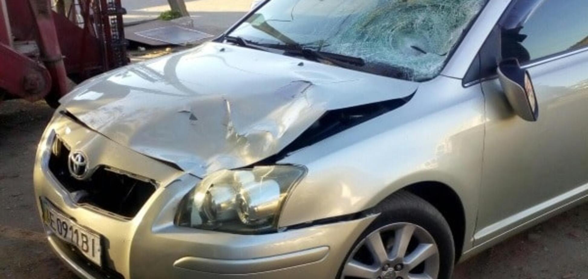 На запорожской трассе пьяный водитель сбил насмерть ребёнка и сбежал
