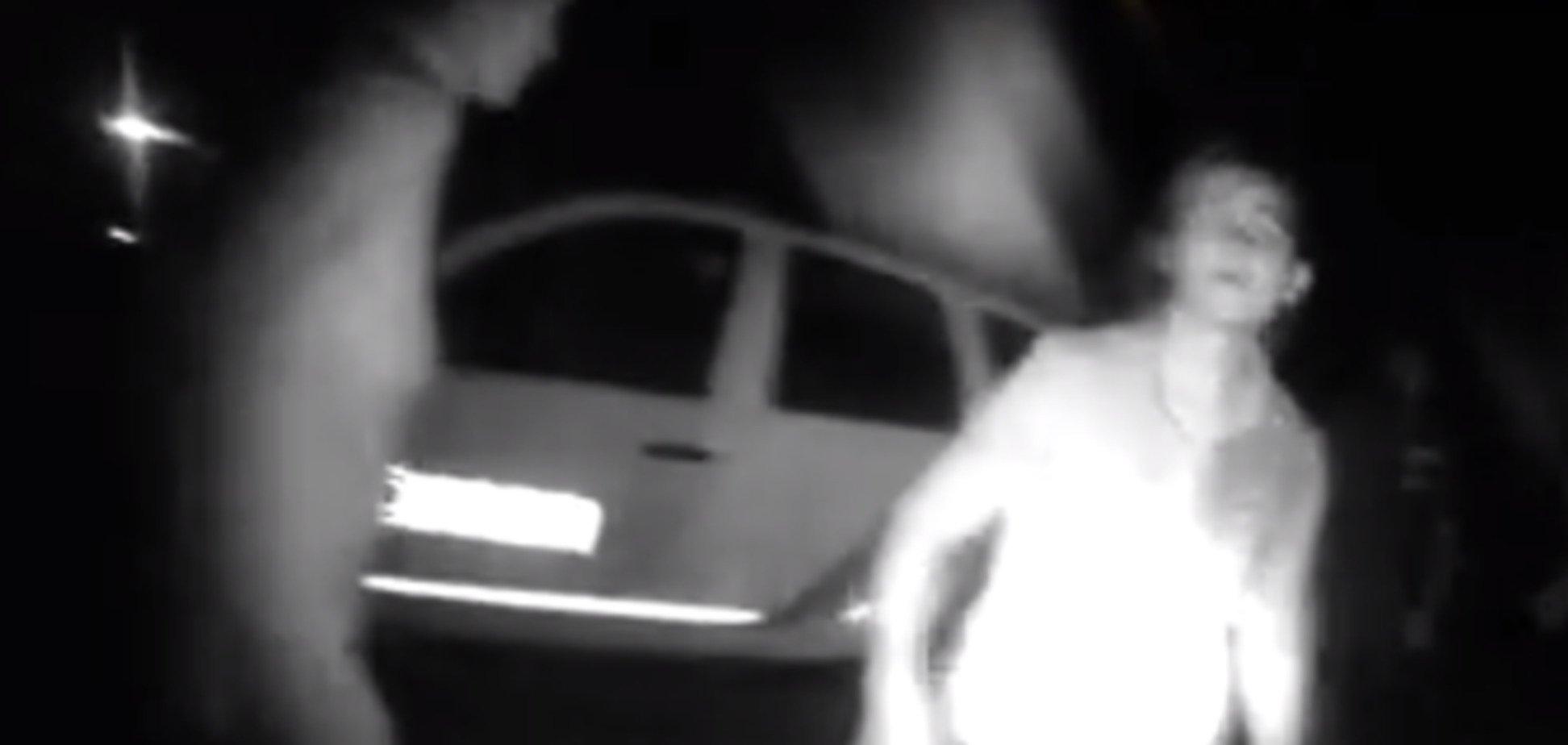 На Львовщине родственники пьяного водителя напали на полицейских с палками