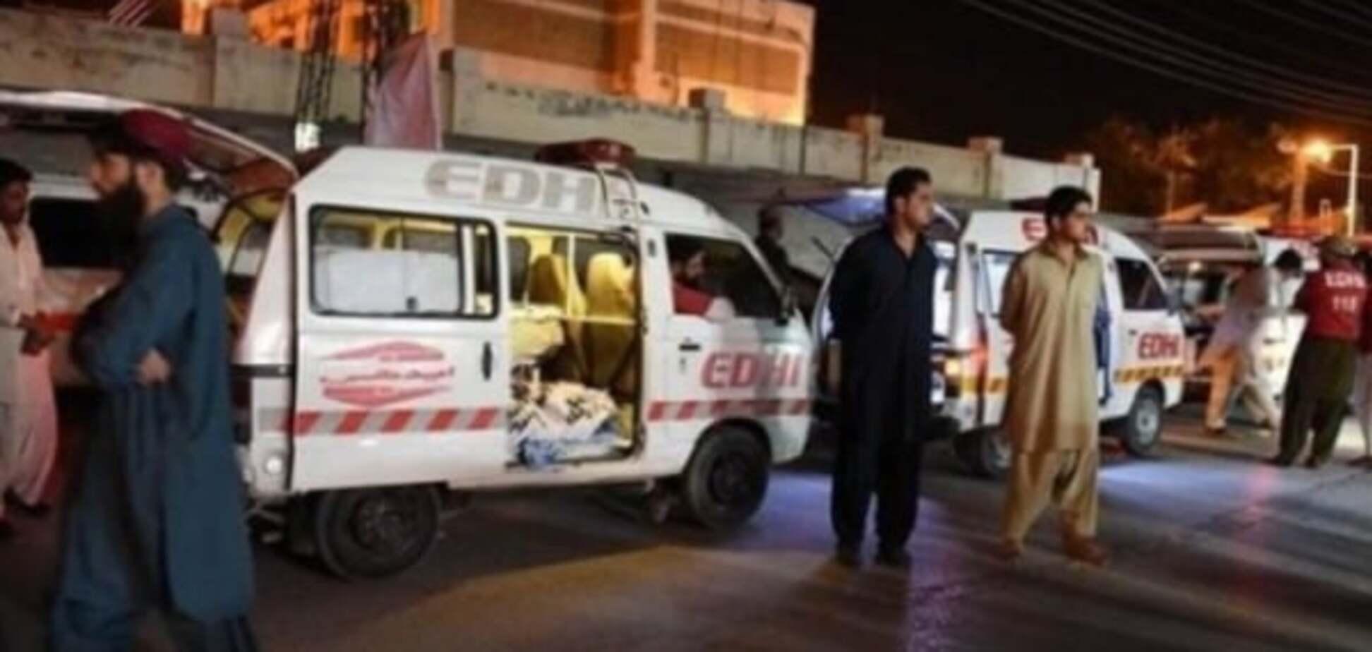 Атака террористов в Пакистане