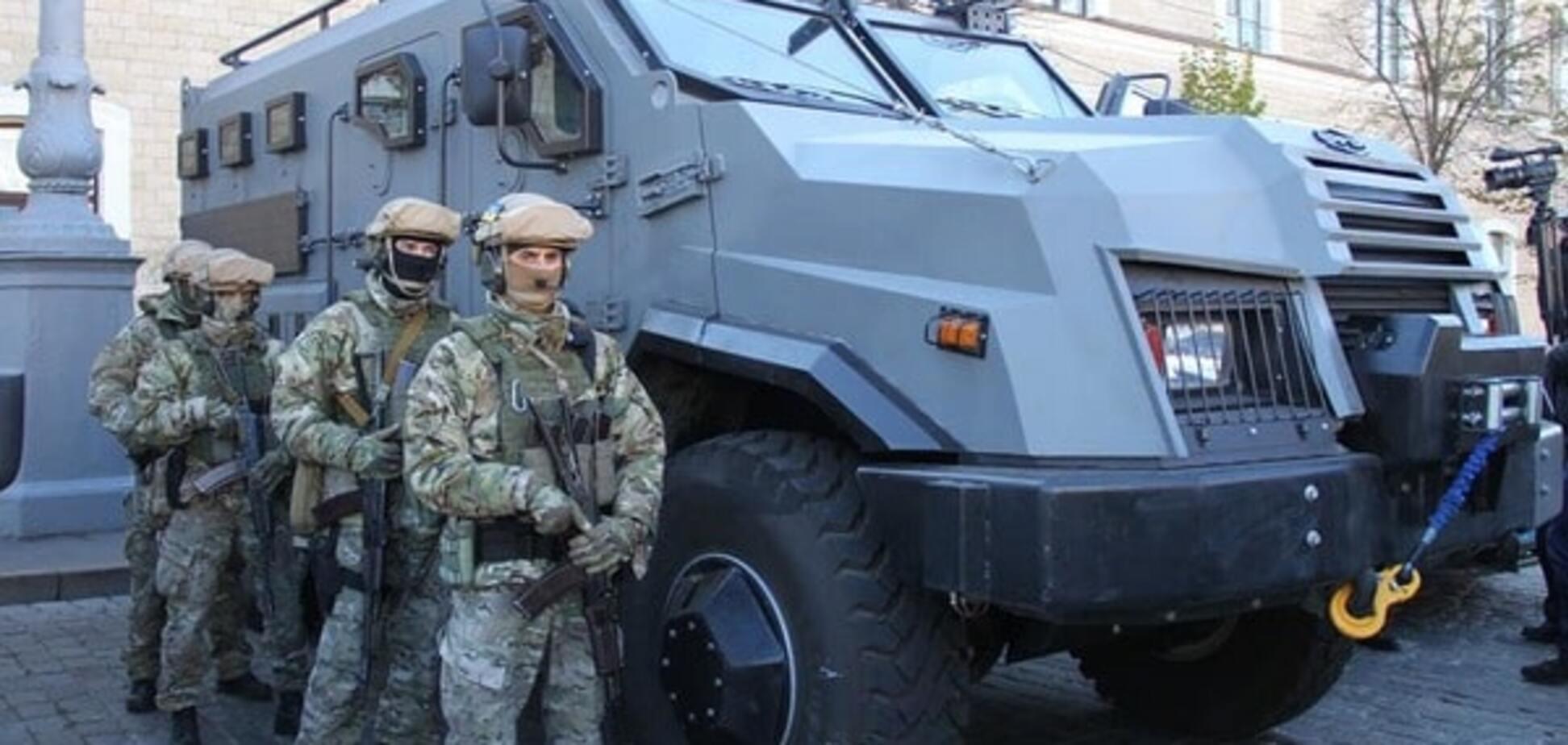 Харьковская полиция получила новый броневик