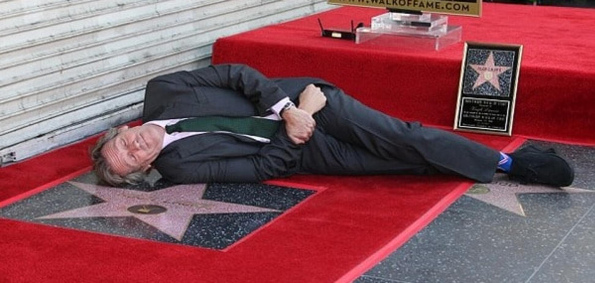 Хью Лори на Аллее славы Голливуда