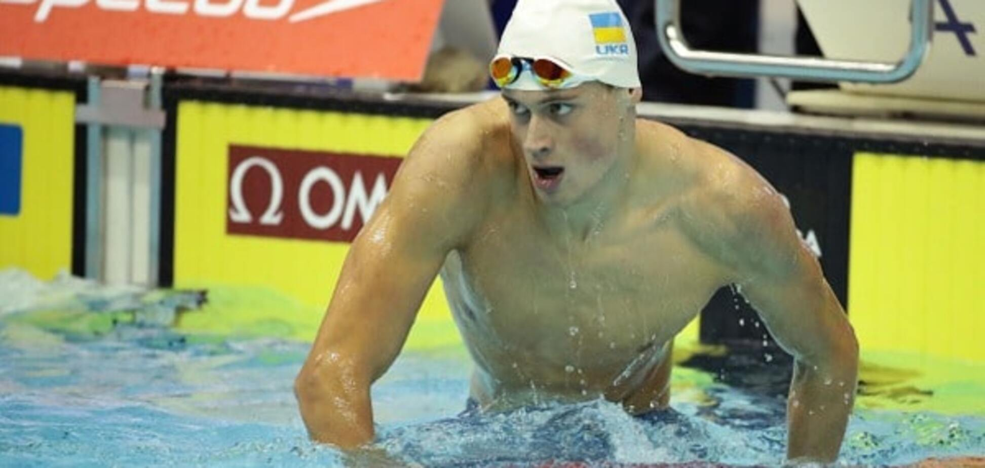Михайло Романчук плавання