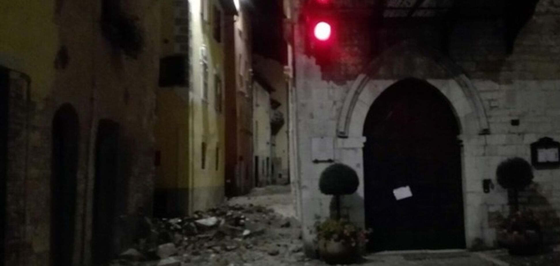 В Италии произошло землетрясение магнитудой 5,4
