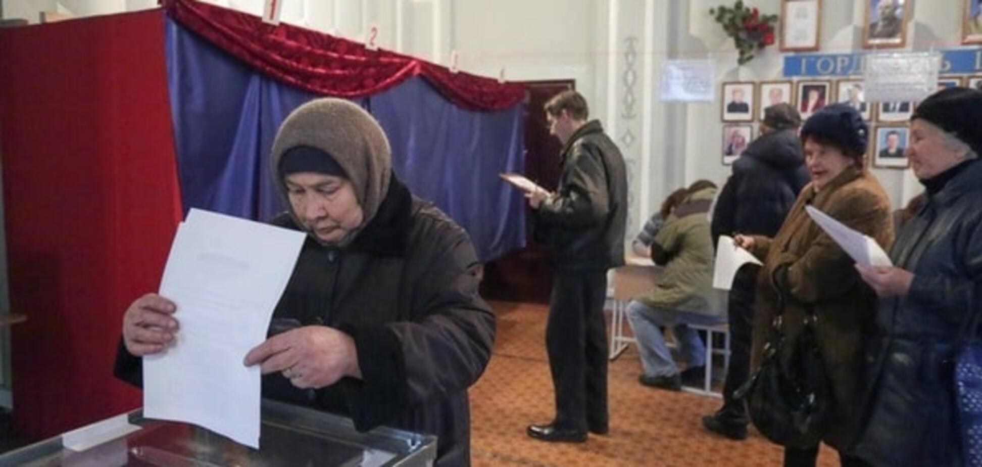 выборы донецк 2014