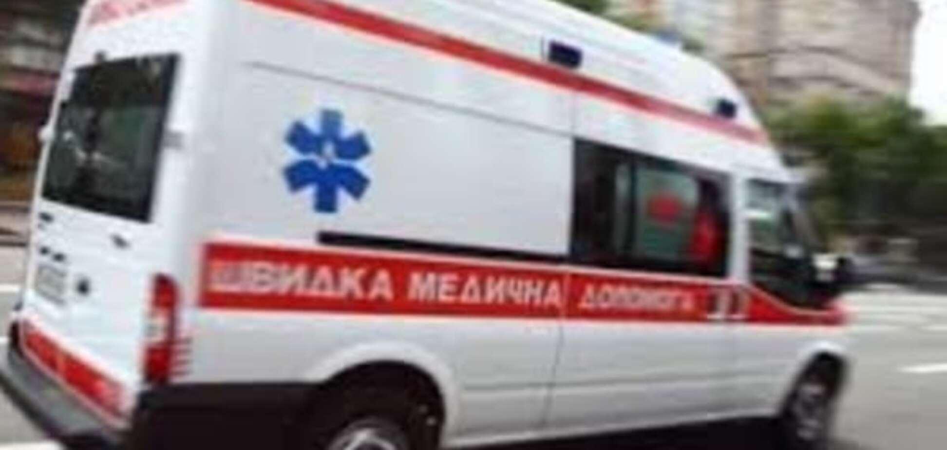 В Запорожье мужчина порезал себе ногу и умер