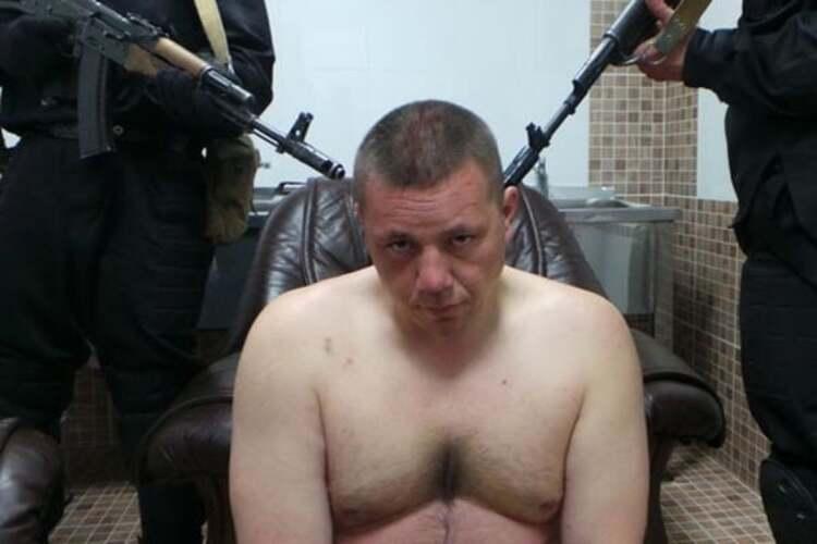 В украинском плену