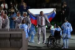 Флаг России на Паралимпиаде
