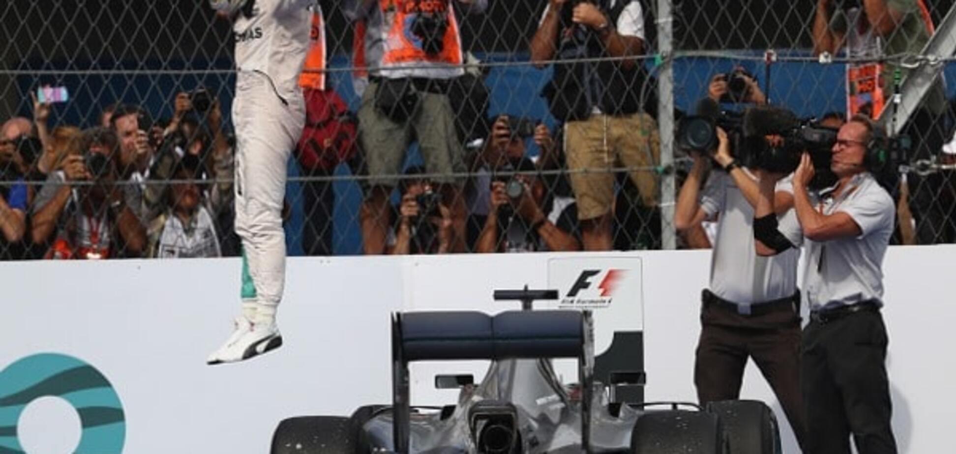 Льюис Хэмилтон Гран-при Мексики