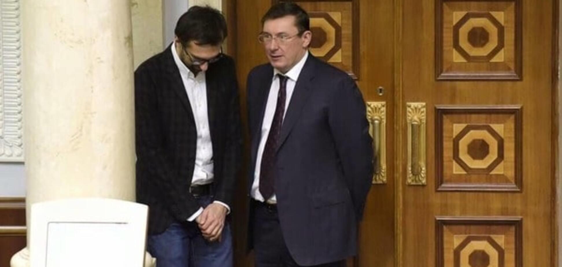Сергей Лещенко и генпрокурор Юрий Луценко