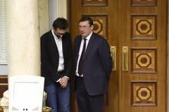 Сергій Лещенко та генпрокурор Юрій Луценко