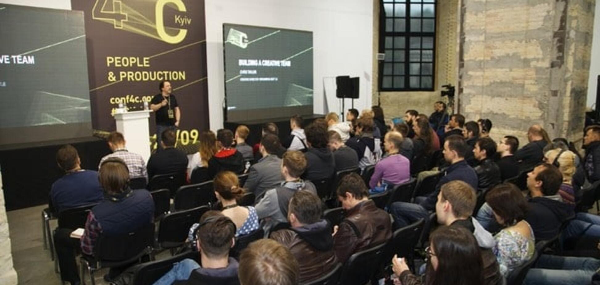 На конференции 4C: Kyiv собрались разработчики игр со всего мира
