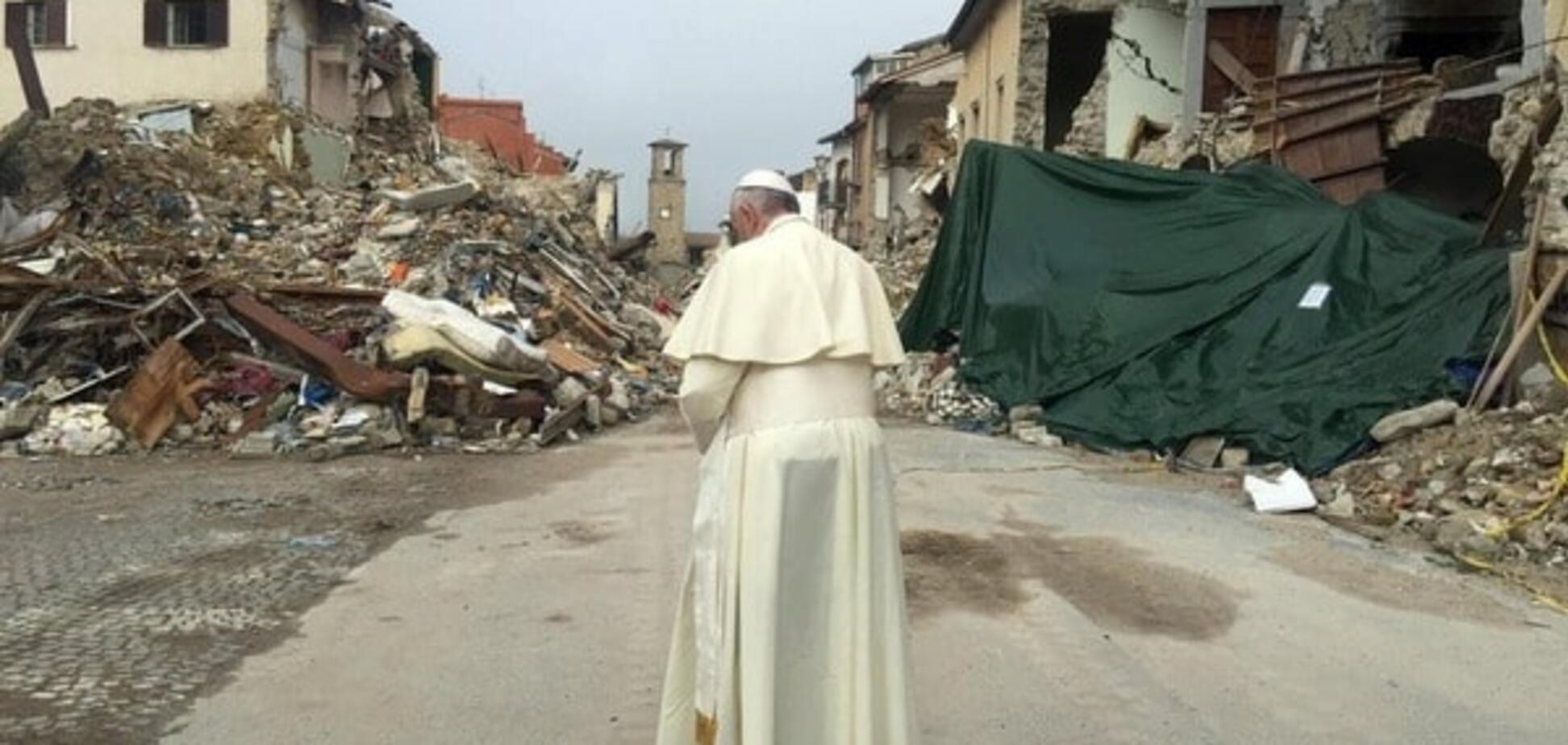 Папа Франциск Аматриче