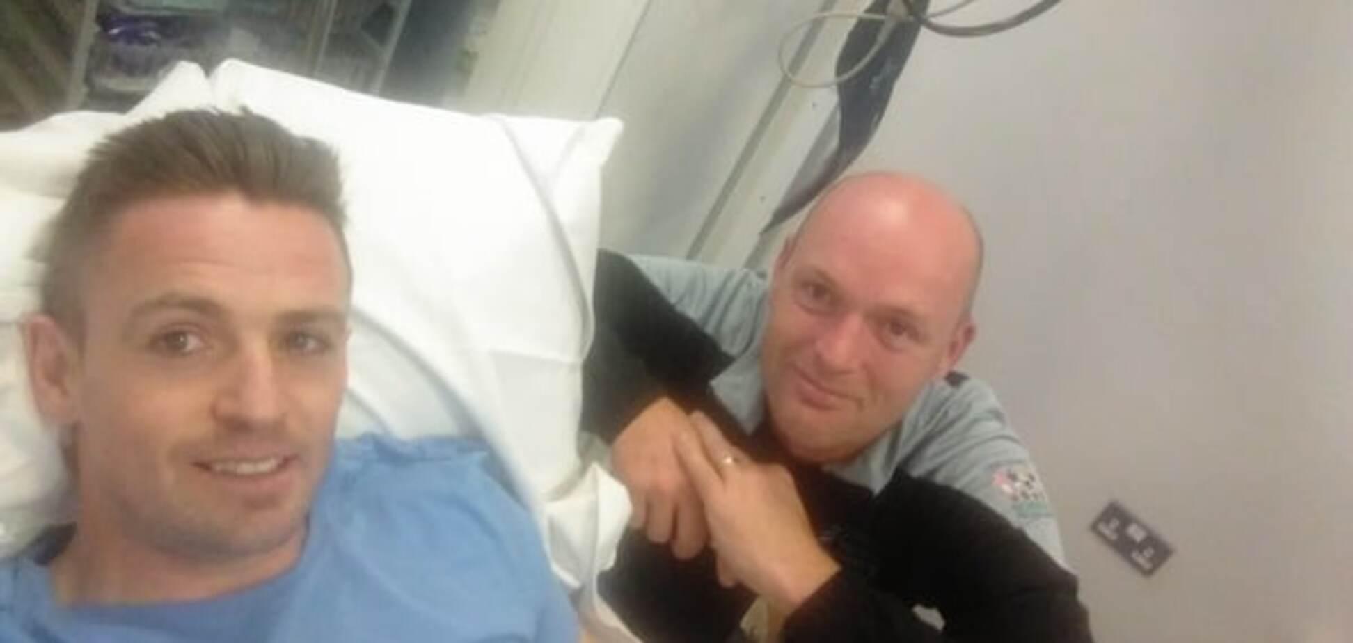 Ирландскому футболисту оторвало палец во время неудачного прыжка: фотографии не для слабонервных