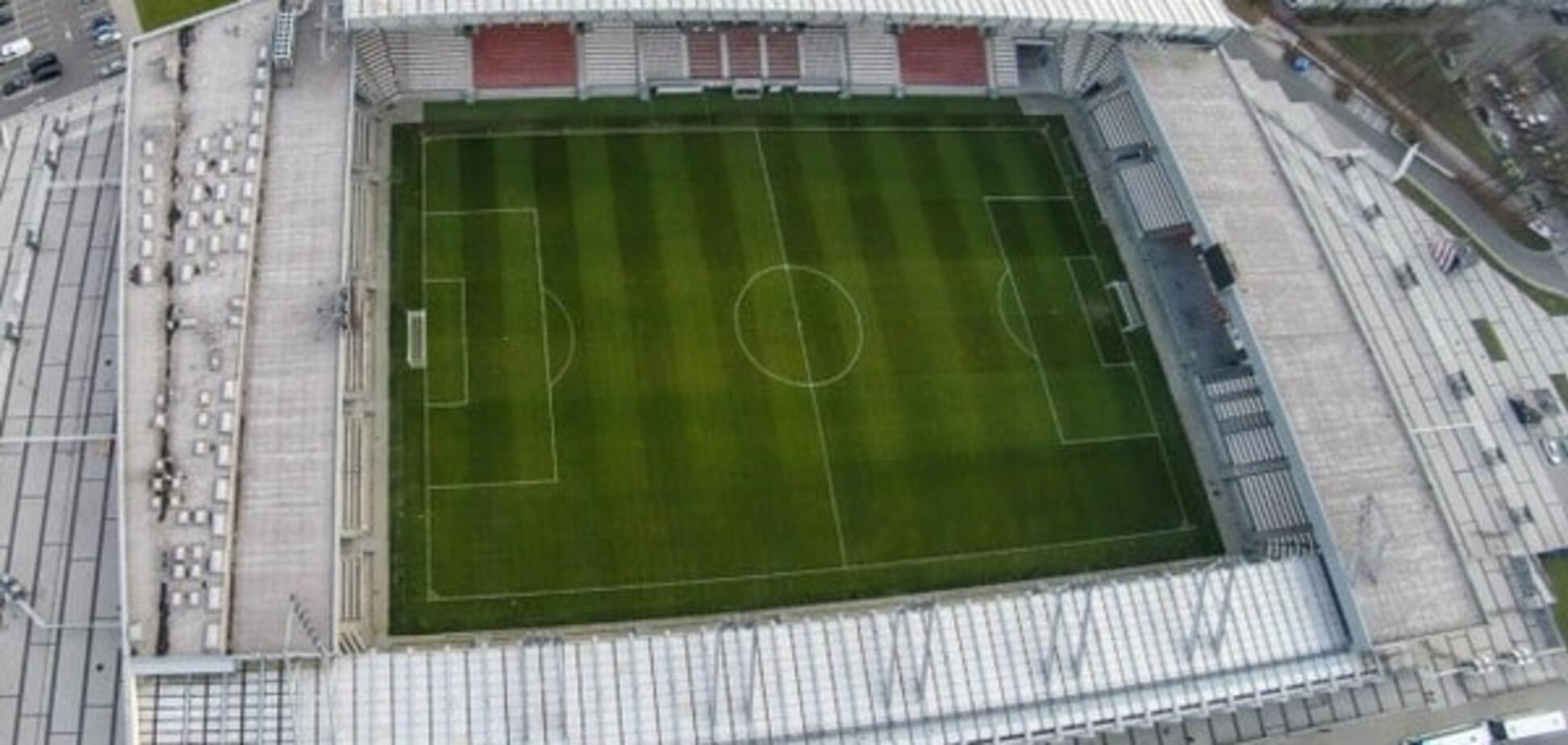 Стадион в Кракове