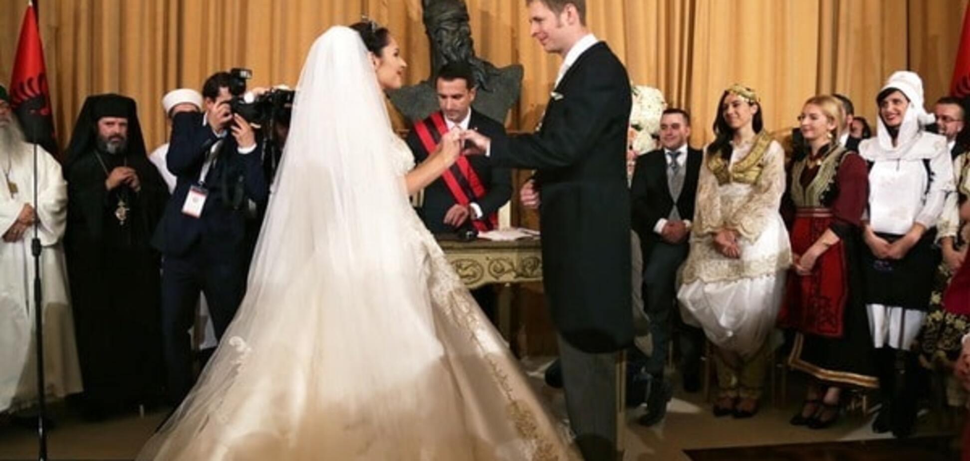 Состоялась свадьба принца Леки II и мисс Элии Захарии