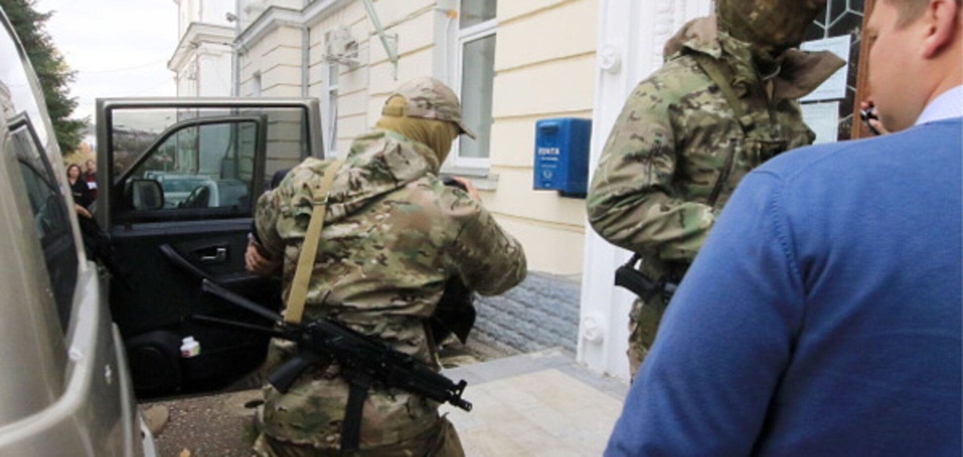 Псевдодиверсия в Крыму