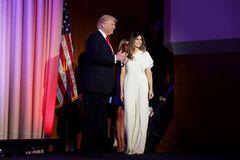 Дональд Трамп и его супруга Мелания