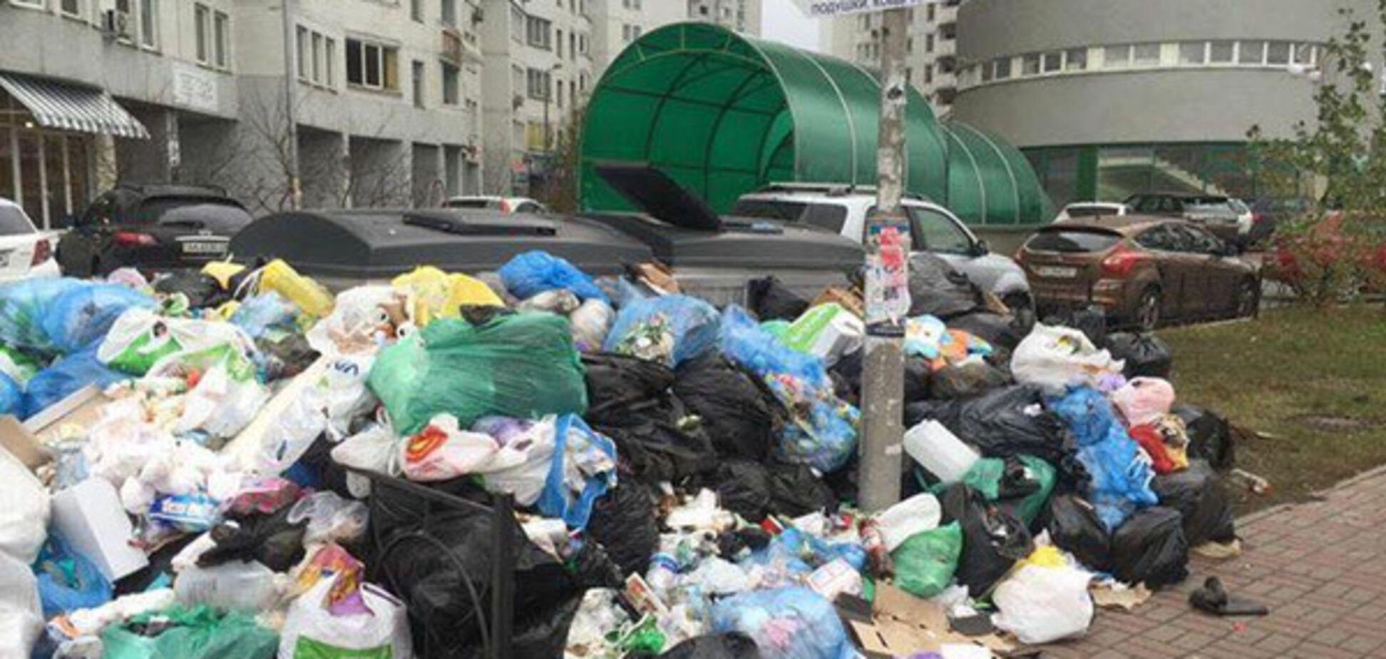 Сміття смітник у Києві