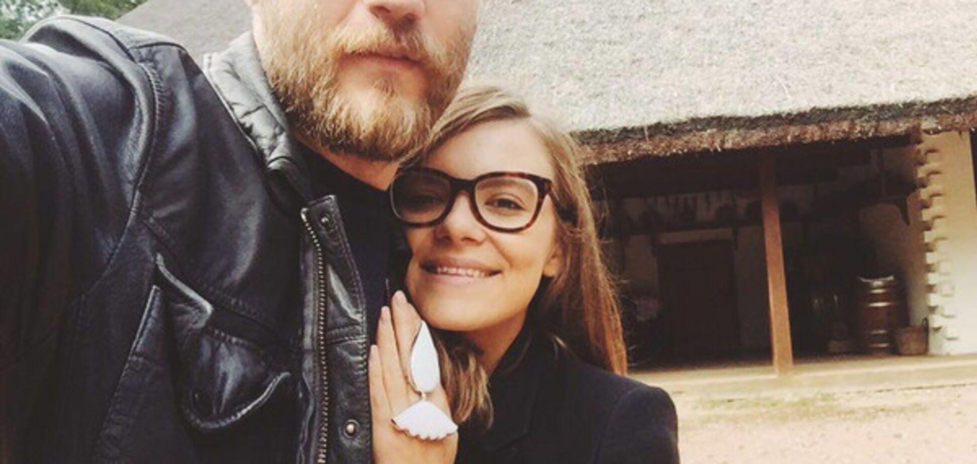Анастасія Дєєва з чоловіком