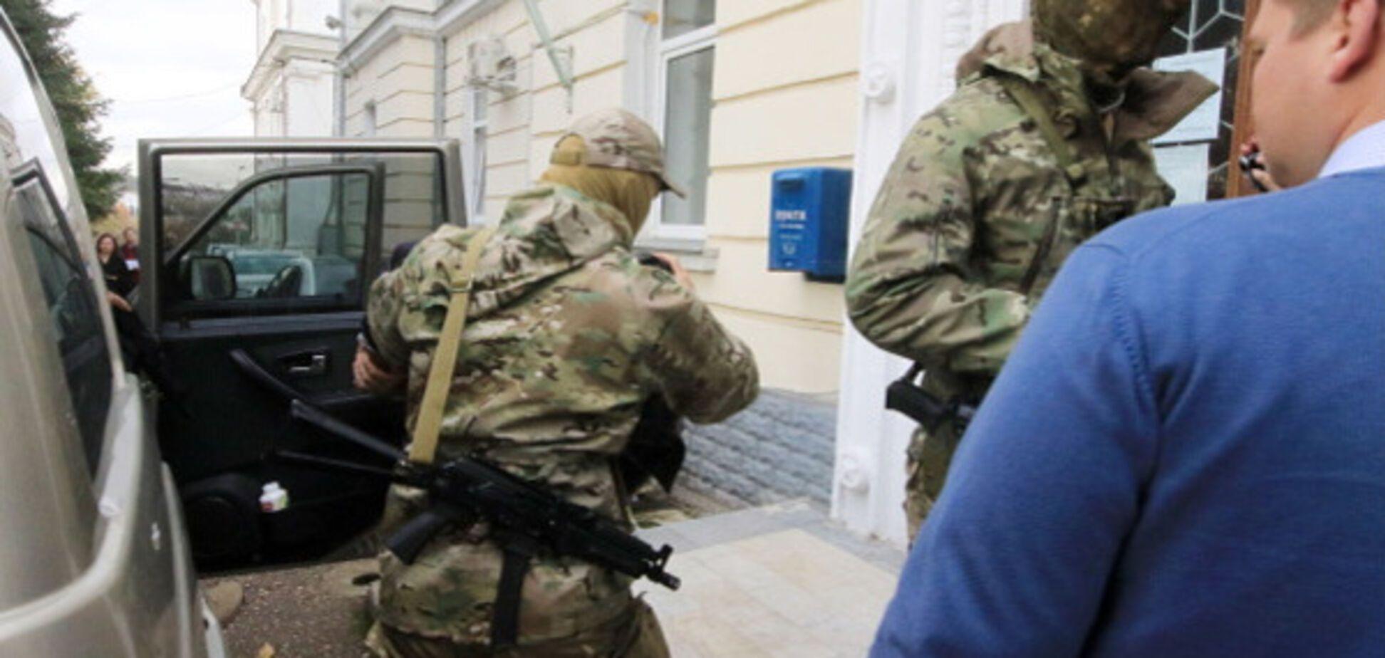 Російські окупанти в Криму