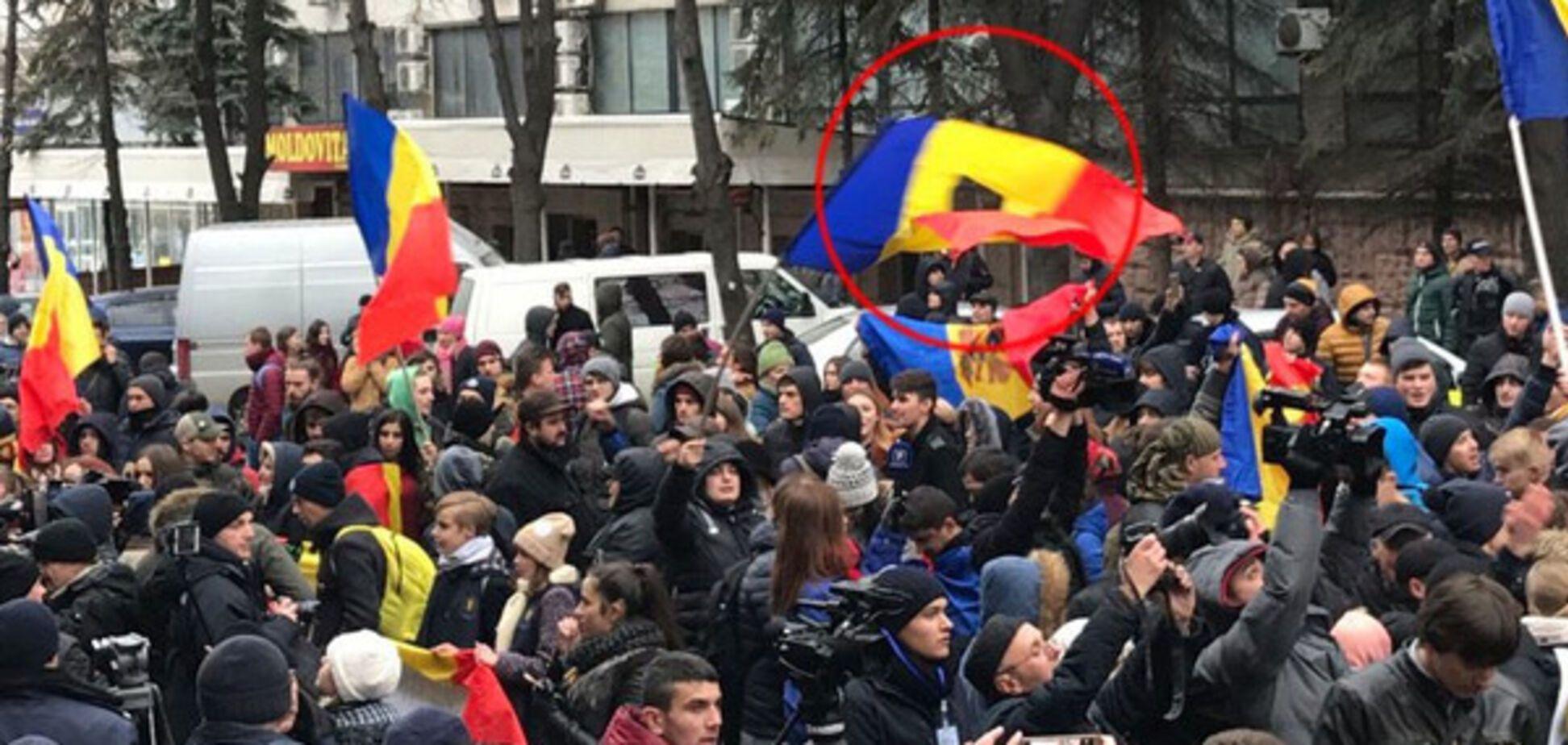 В Молдове протесты