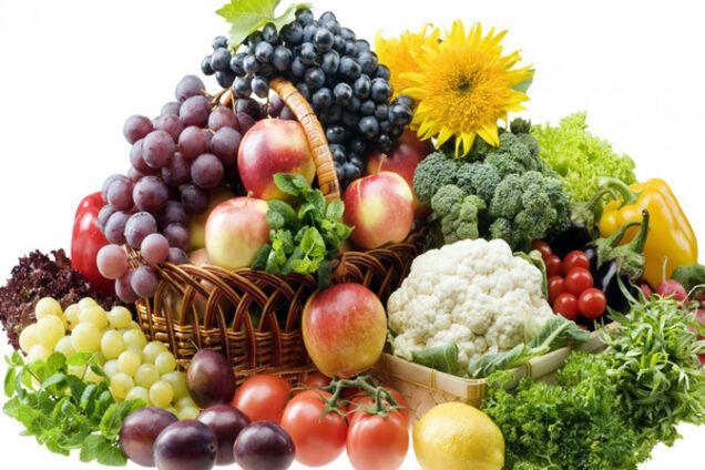 Овощи и фрукты для мужской силы
