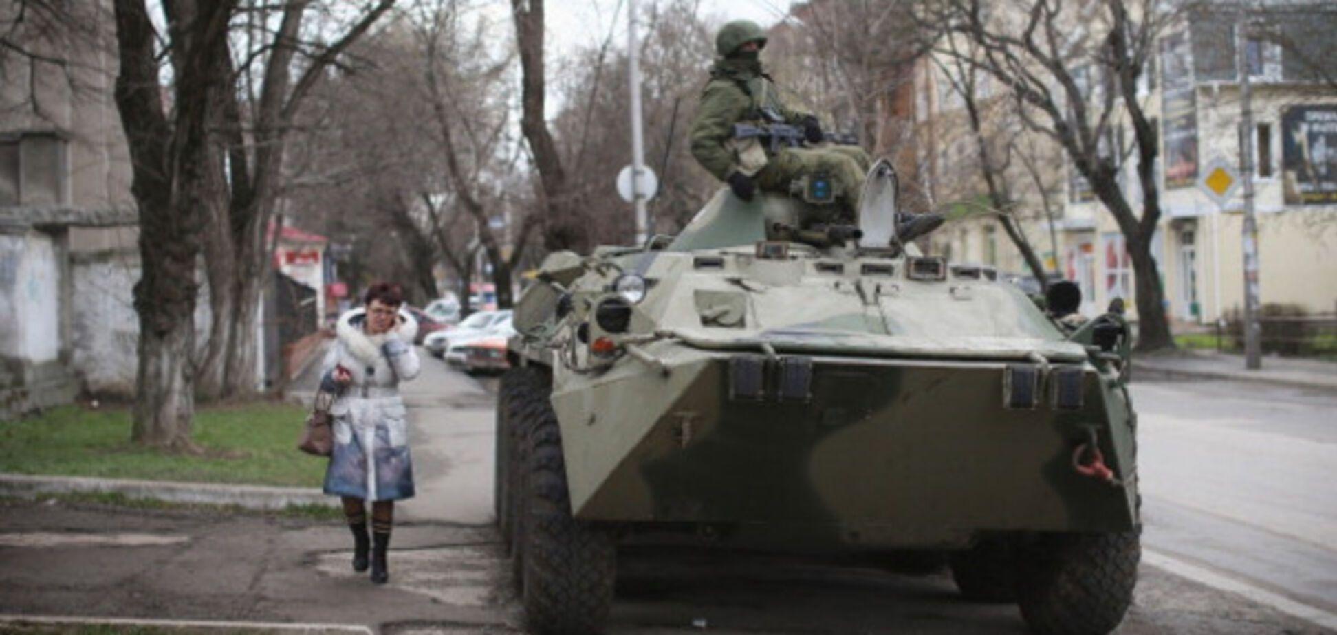 Росія готується провести 'АТО' в окупованому Криму
