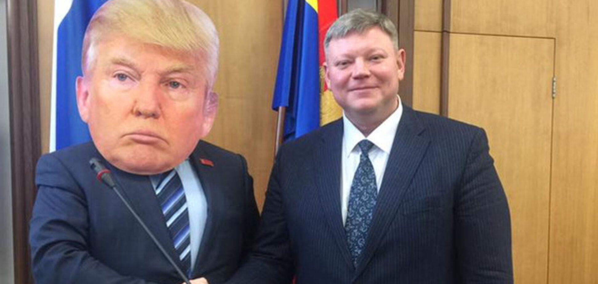 Дональд Трамп в Красноярске