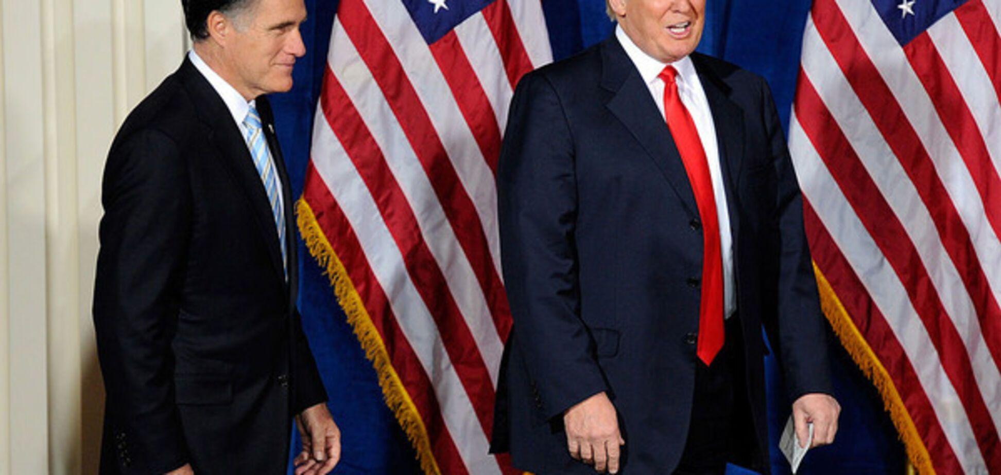 Митт Ромни и Дональд Трамп