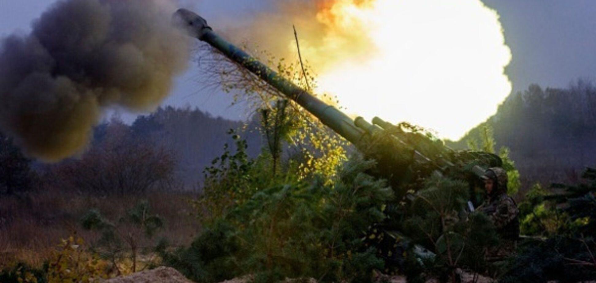 донбас війна вогонь