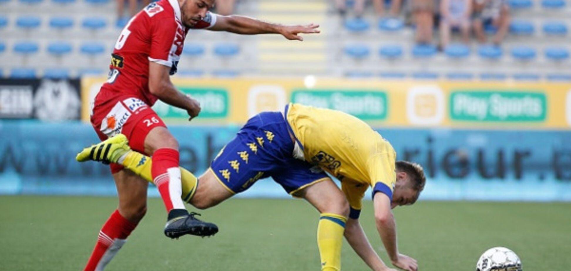 Футболисту сборной Украины едва не сломали ногу во время матча: видеофакт