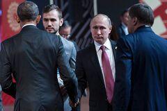 Зустріч Путіна і Обами