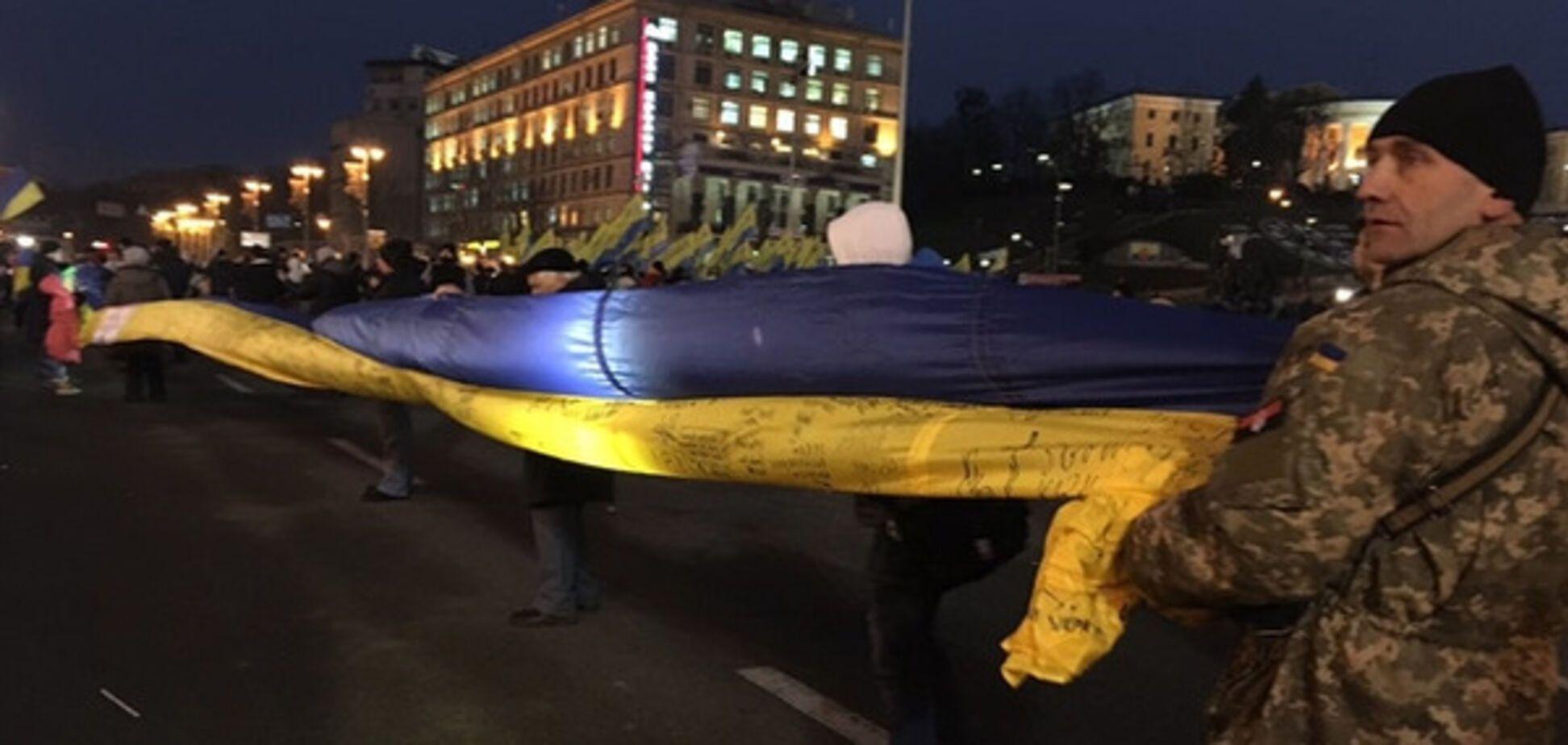 Народне віче на Майдані Незалежності
