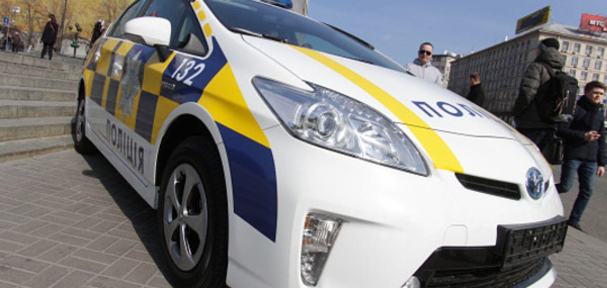 У Дніпрі сталася ДТП за поліцейським авто