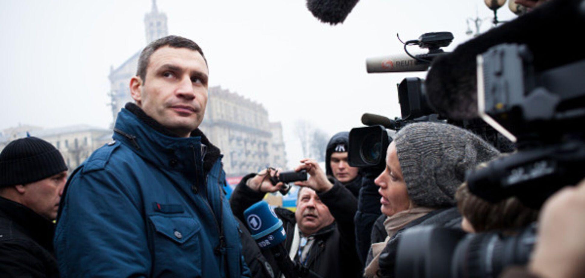 Віталій Кличко на Майдані