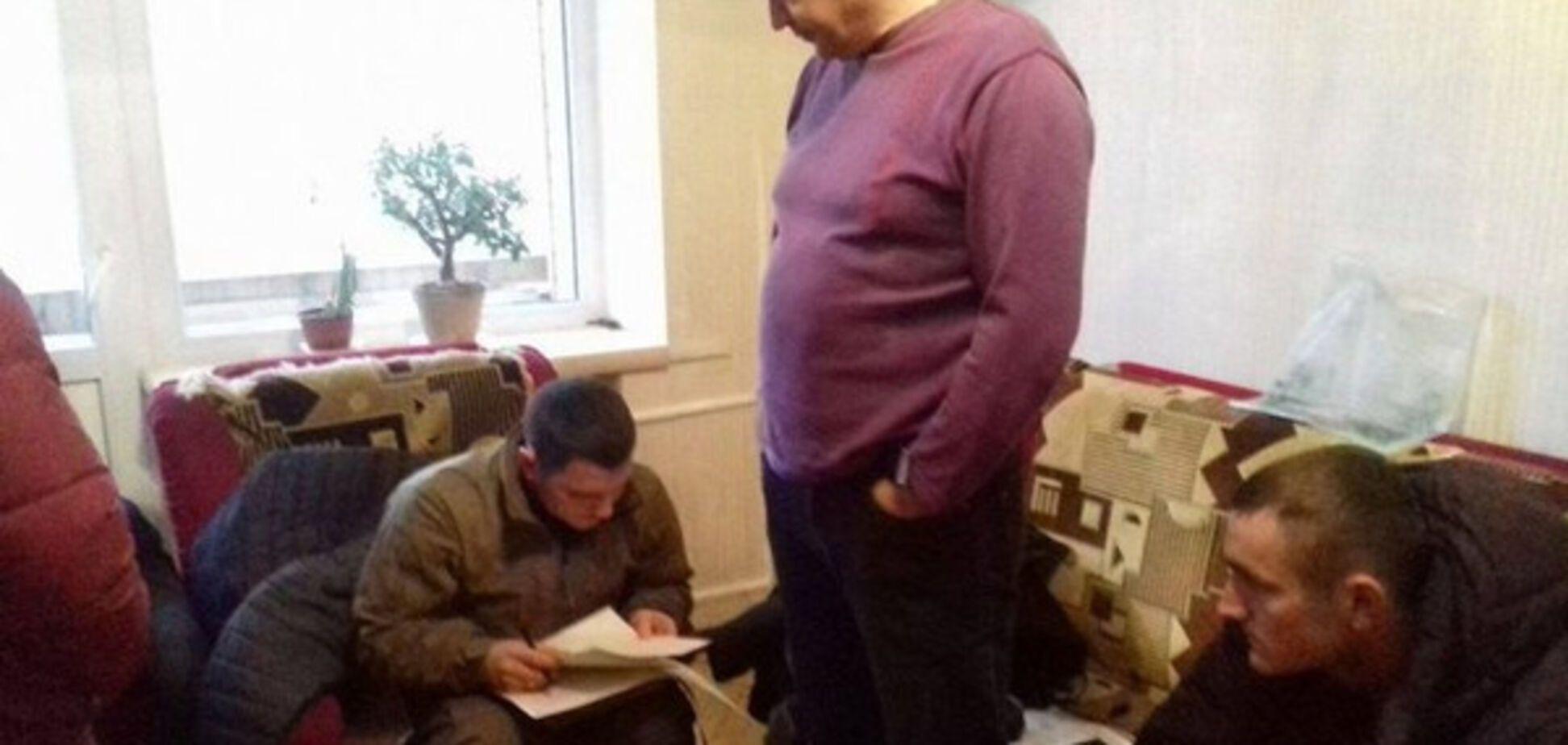 Как в «лучшие времена Януковича»: к «автомайдановцу» нагрянули с обыском