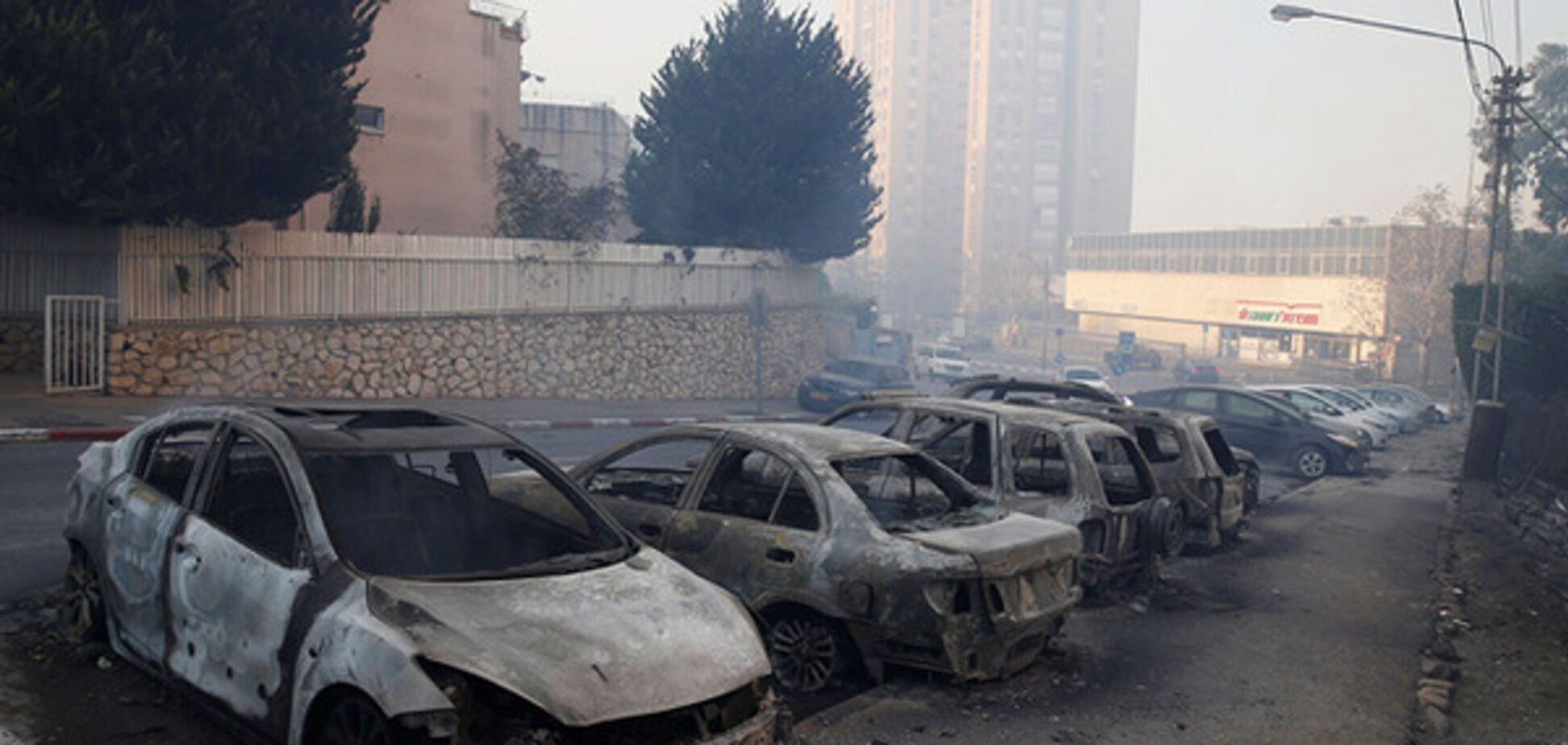 З\u0027явилися страшні фото наслідків вогняного терору в Ізраїлі