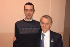 Хайсер и Мустафа Джемилевы