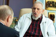 Путін і Кастро